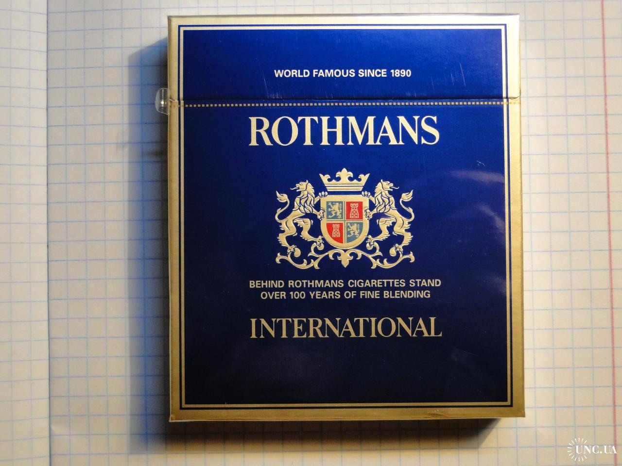 Ротманс интернешнл сигареты купить можно ли купить сигареты из сша в россию