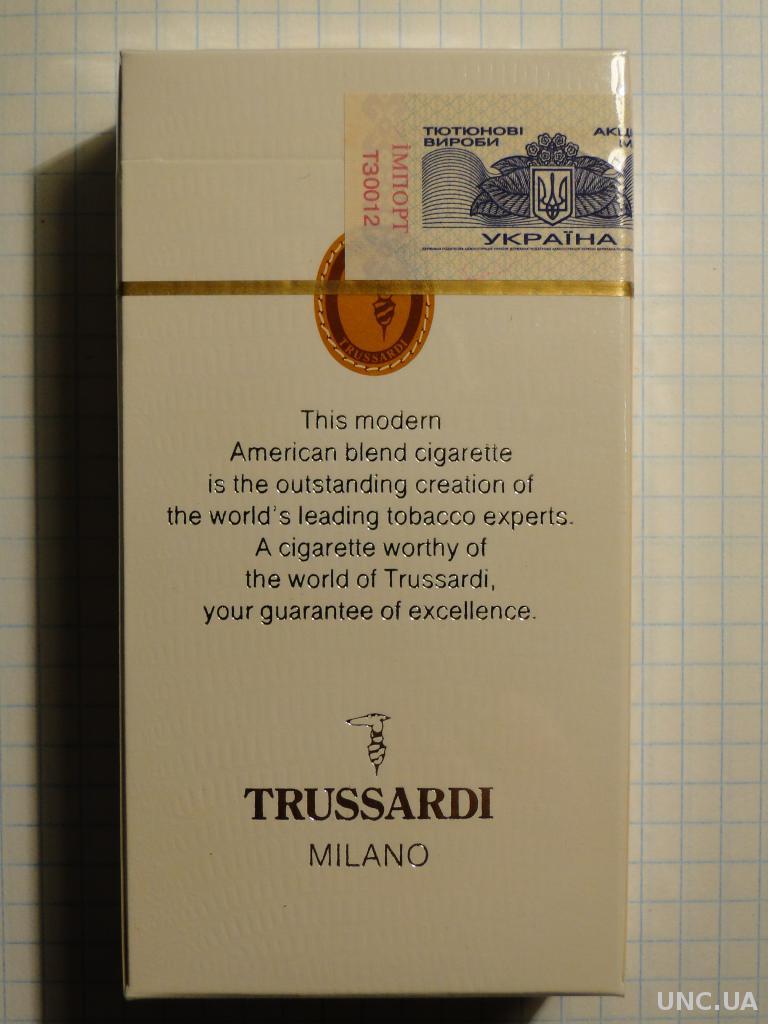 Trussardi сигареты купить жидкость для электронных сигарет без никотина купить бесплатная доставка