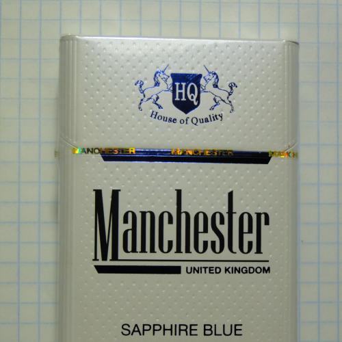 Сигареты Manchester Sapphire Blue