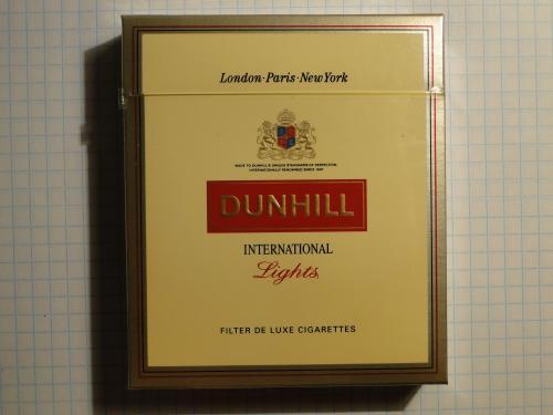 Сигареты DUNHILL L LIGHTS