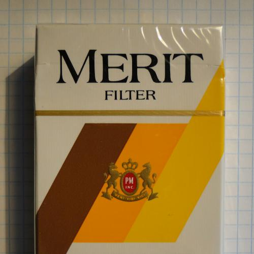 Сигареты MERIT FILTER USA