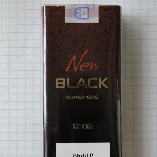 Сигареты NEW BLACK 120s Армения