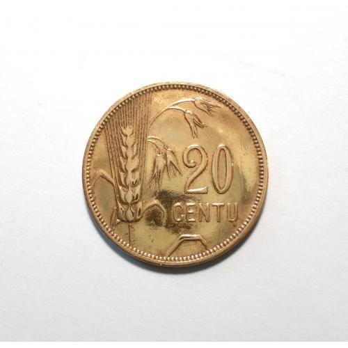 Литва 20 центу 1925