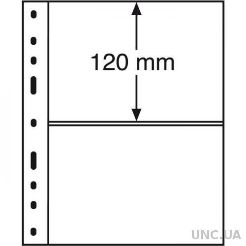 Лист OPTIMA Classic для 2-х банкнот 180 x 120 mm