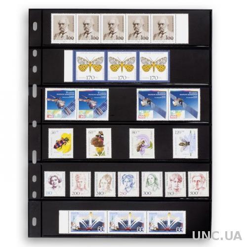 Лист OPTIMA для марок на 6 (*2) строк 180 x 35 mm