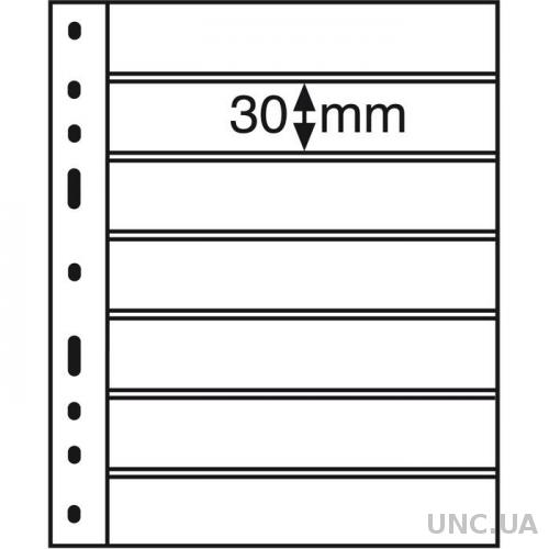 Лист OPTIMA для марок на 7 (*2) строк 180 x 30 mm