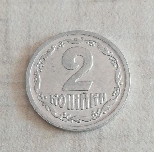 Монеты Украины 2 копейки 1993 года