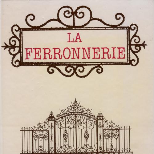 Альбом 2003/1881г. кованых изделий Франции, Германии, Англии, Италии, Испании, Швейцарии,  Бельгии.