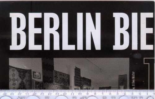 Буклет-плакат 8 (восьмой) Берлинской биеннале современного искусства 2014 года.