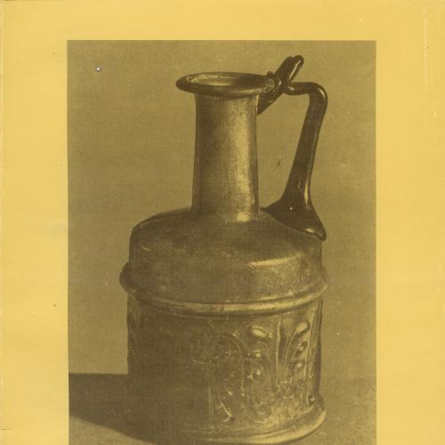 Художественный каталог на польском языке «Античное стекло» 1987г.