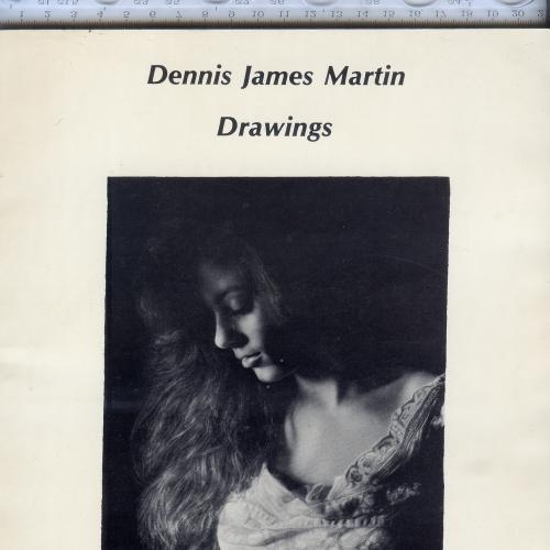 Каталог рисунков канзасского рисовальщика Денниса Джеймса Мартина, 1-е издание 1989г.