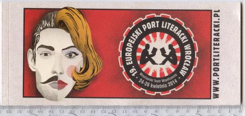 Программа фестиваля «Европейский литературный порт Вроцлава» 2014г. объемом 38 стр.