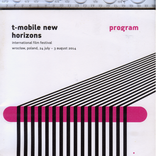 Программа международного кинофестиваля «T-mobile new horizons» 2014г.