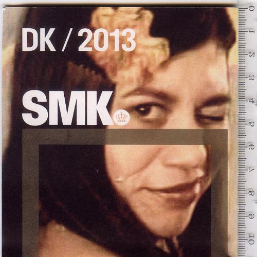 Раскладной буклет-путеводитель по Национальной галереи в Дании 2013 г. на датском языке.