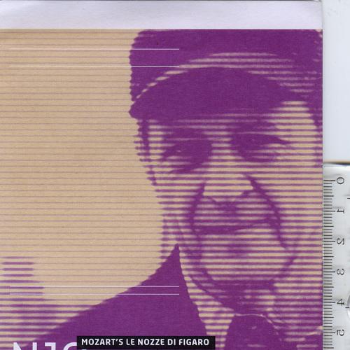 Складной буклет на англ. языке «Летняя академия NJO 2013. Композитор в резиденции: Стив Рейх».