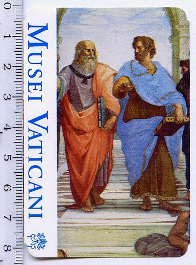 Входной билет одноразовый в Музеи Ватикана.