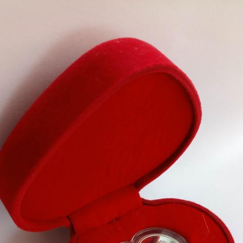Серебряная монета Вечная Любовь 2012 год