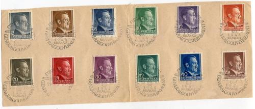 ГГ штампи Краків 1944 р.