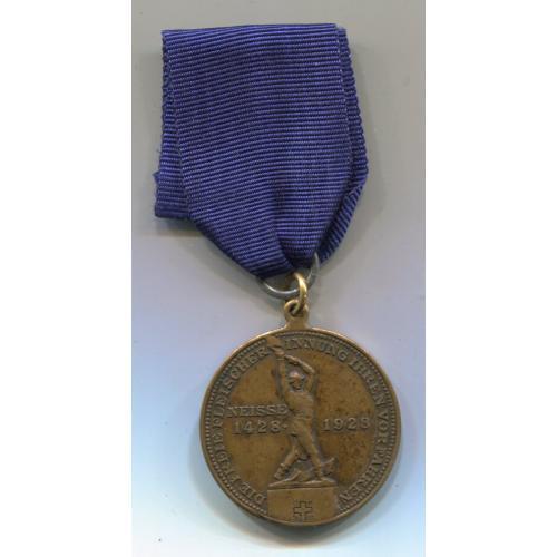 """Медаль - Турнір рубки м""""яса, Німеччина 1928 р."""