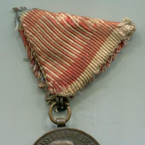 """Медаль """"За Хоробість"""" ІІІ ст. Австро-Угорщина (бронза)"""
