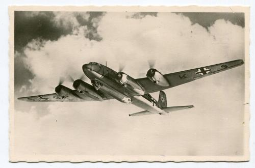 Поштівка Фокке-Вульф 1943 р.