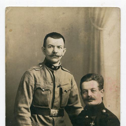 Поштівка-фото штампи FeldPost-186. 1916 р.