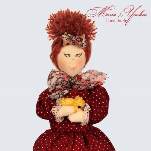 Лялька ручної роботи від дизайнера  Марії Яськів