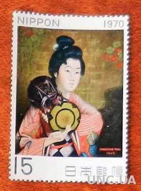 Япония 1970 Живопись