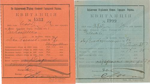 Архів документів відомого Киянина видавця, благодійника, мецената Чикаленко Євгена Харламовича