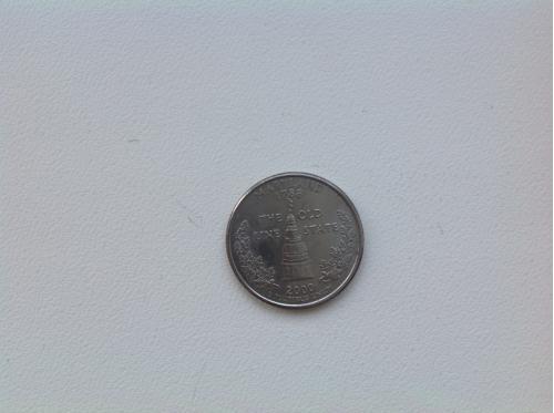 25 центов 2000 Maryland