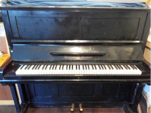 Старинное антикварное немецкое пианино Romhildt Weimar