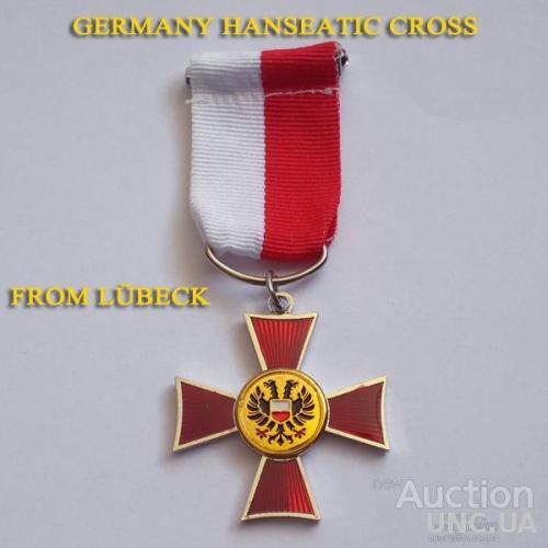 Ганзейский крест Любек  Германия