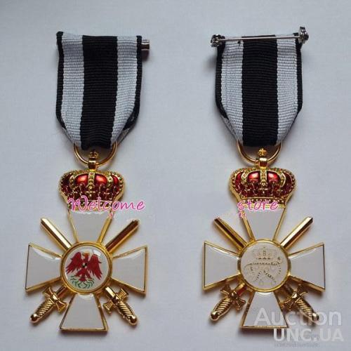 орден Красного Орла 3-й Класс с Мечом и Корона