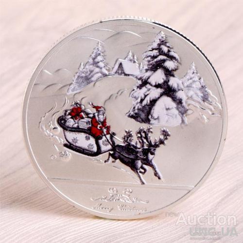 Веселый Рождественский Дед Мороз
