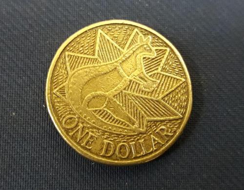 Австралия 1 доллар 1988, 200 лет английской колонизации Австралии Юбилейная  Фауна