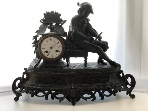 Часы каминные, Франция, ХІХ век