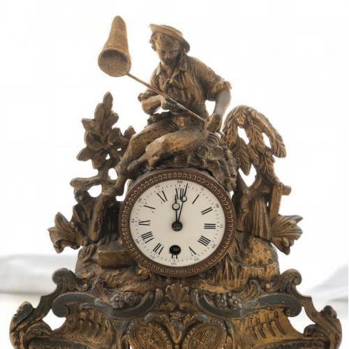 Часы каминные, Франция, ХІХ век.