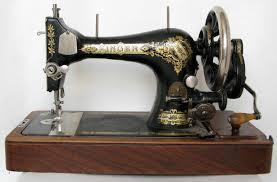 Швейная машина Зингер 19 века.