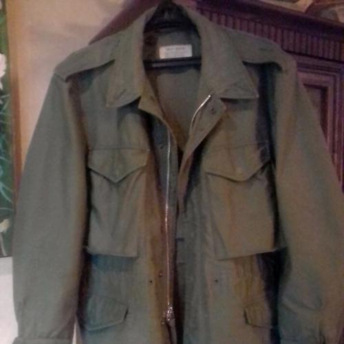 полевая куртка армии США М-51,контракт,1958 год,ранний Вьетнам