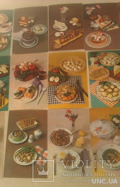 Советы хозяйкам 15-фото с рецептами с обратной стороны