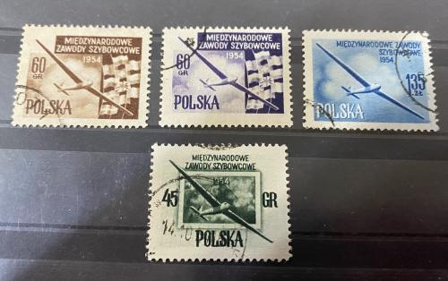 1954. Польша. Авиация