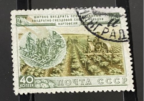1954. СССР. Сельское хозяйство