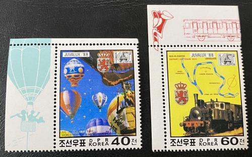 1988. Северная Корея. Транспорт. MNH