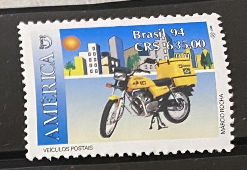 1992. Бразилия. Мотоцикл. MNH