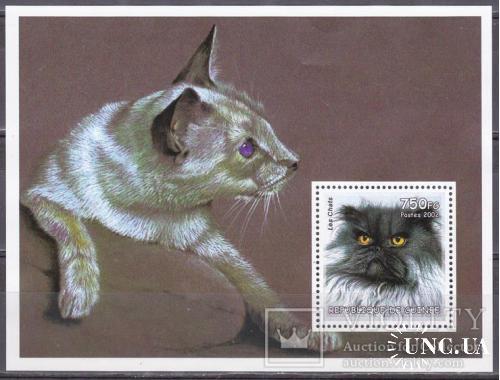 2002. Гвинея. Коты. MNH