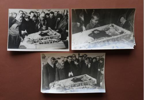 ФОТО. 1952 г. Похороны. Дети. Ребенок. Три фото одним лотом.