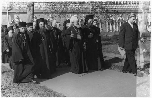 ФОТО. 1958 г. Болгарский патриарх Кирилл , Священники, Епископы Троице-Сергиева Лавра, МДА
