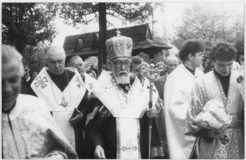 ФОТО. 1981 г. Глава УГКЦ кардинал Мирослав (Любачивский). Косов. Ивано-Франковская обл.