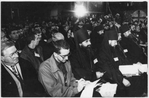 ФОТО. 1995 г. Поместный собор УПЦ КП