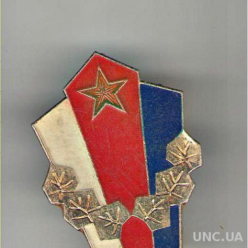 Чехословакия. Знак «За образцовую службу в Народной Армии»